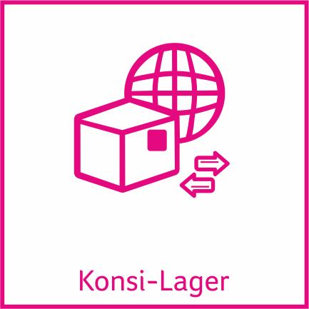 Zusatzmodul Konsi-Lager für die Sage 100