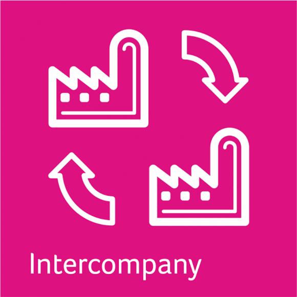 Intercompany Lösung von abacus für die Sage 100