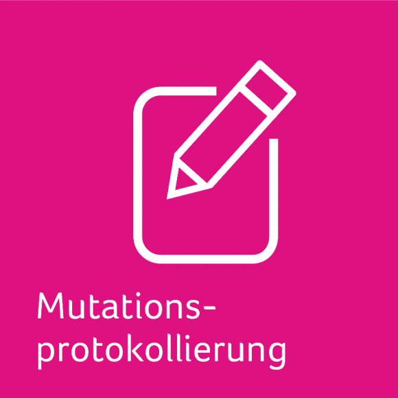 Mutationsprotokollierung für die Sage 100